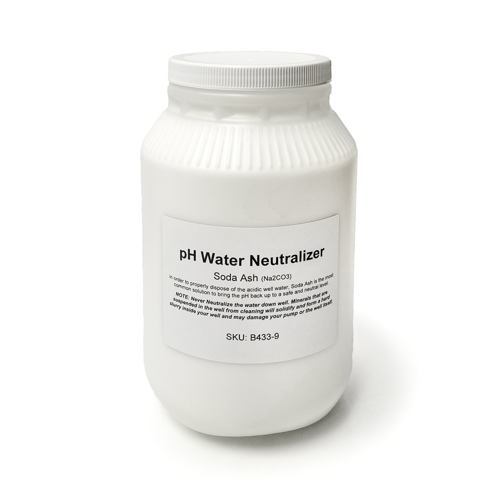 pH Acidic Water Neutralizer (Soda Ash), 9lb