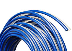 1/4 OD Bonded Tubing Blue/Natural