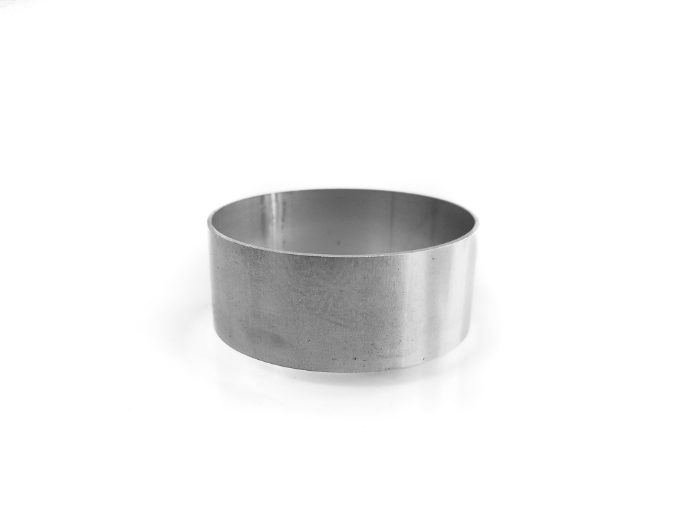 "2.5"" x 1"" Stainless Steel Liner"