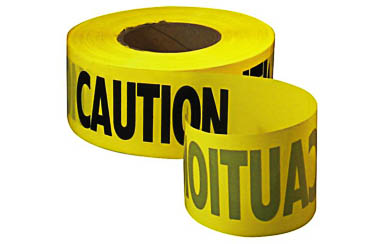 Yellow CAUTION Tape 3 x 1000