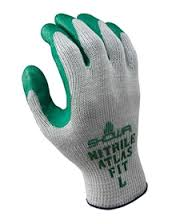 Nitrile Palm Coated Glove (XL, LG, MD, SM)