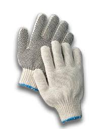 PVC Dot String Glove, XL (1 Pair)