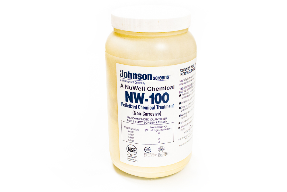 NuWell-100 Pelletized Acid 4.5 lb Jar (1/2 Gal)